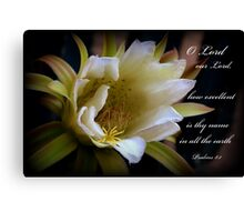 Lord Our Lord Canvas Print
