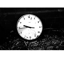 Stuck In Time Photographic Print