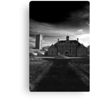 St Mary's Black and White Canvas Print