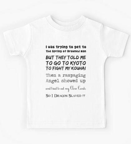 90's Anime Nerd Shirt 2 Kids Tee