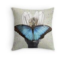 Butterflies. Throw Pillow