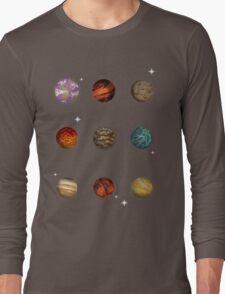 Planet Pixel Long Sleeve T-Shirt
