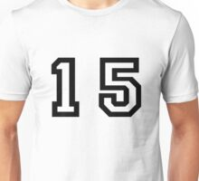 Number Fifteen Unisex T-Shirt