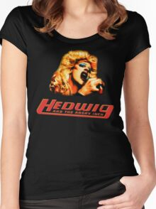 Hedwig and the Angry Inch Comic Book/Pop Art Women's Fitted Scoop T-Shirt