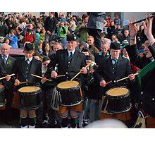 Drumming Photographic Print
