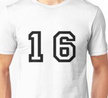 Number Sixteen Unisex T-Shirt