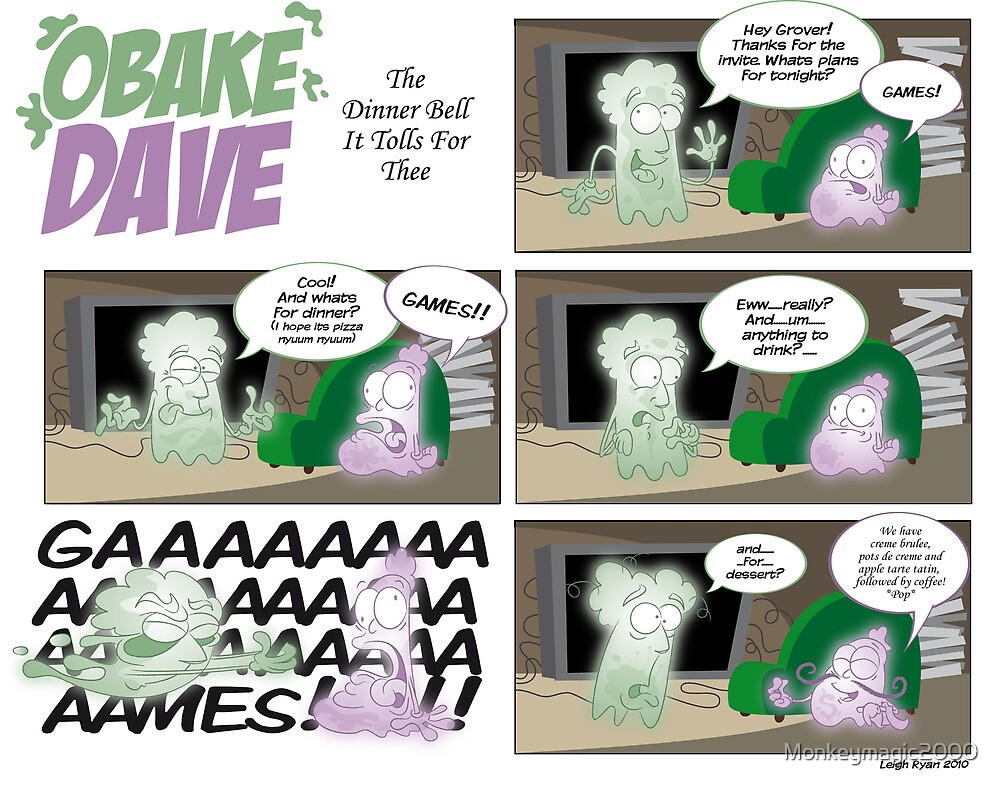 Obake Dave The Dinner Bell It Tolls For Thee by Monkeymagic2000