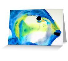 Tropical Fish 3 - Abstract Art By Sharon Cummings Greeting Card