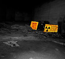 Warning...Radiation. by Chris Hardley