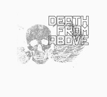 Death From Above Winged Skull Unisex T-Shirt