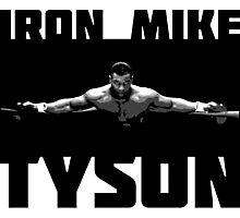 IRON MIKE TYSON Photographic Print