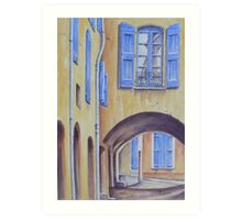 Arch in Provence Art Print