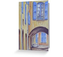 Arch in Provence Greeting Card