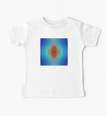 Center Point - Abstract Art By Sharon Cummings Baby Tee