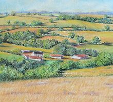 An English Landscape by FranEvans