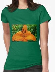 Reach for the Sky! Orange Lily and Buds T-Shirt