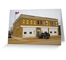 Petroleum County (Montana) Court House Greeting Card