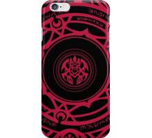 Sirzechs Lucifer Magic Circle iPhone Case/Skin