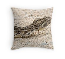 Africa's Deadly Serpent Throw Pillow