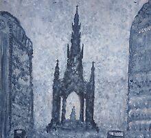 Scott Monument - Edinburgh  by Lynsey Macleod