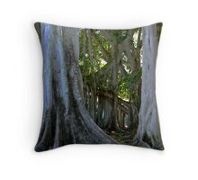 A banyon Tree Throw Pillow