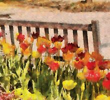 Tulips - Retirement can be sweet by Mike  Savad