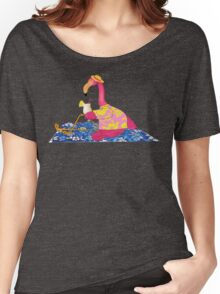 Lawn Flamingo on Vacation Women's Relaxed Fit T-Shirt