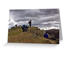 Action Men Greeting Card