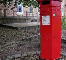 Victorian Pillar Box by Carol Bleasdale