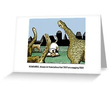 tails of wisdom Greeting Card