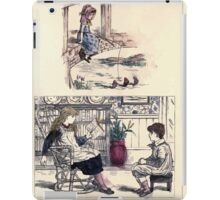 The Little Folks Painting book by George Weatherly and Kate Greenaway 0131 iPad Case/Skin