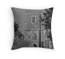 St Veep church Throw Pillow