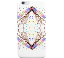 Rainbow ribbons and curls...  iPhone Case/Skin