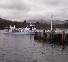 Boat on the Water - Windermere by Browneyedgirl78