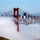 Golden Gate Bridge Fog by jparks