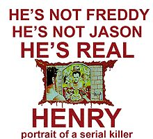 henry portrait of a serial killer by magenandstacy