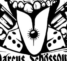 Marcus Schossow Official Logo Sticker