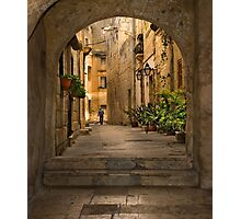 Tarxien Malta Archway Photographic Print