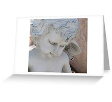 Angel Statue Greeting Card