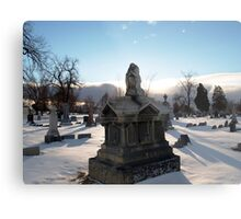 Angel Tomb Metal Print