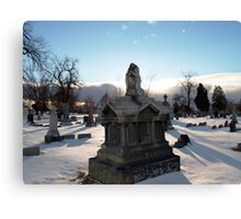 Angel Tomb Canvas Print