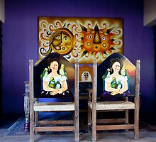 Frida's Chairs by phil decocco