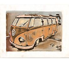 Retro In Rust Photographic Print