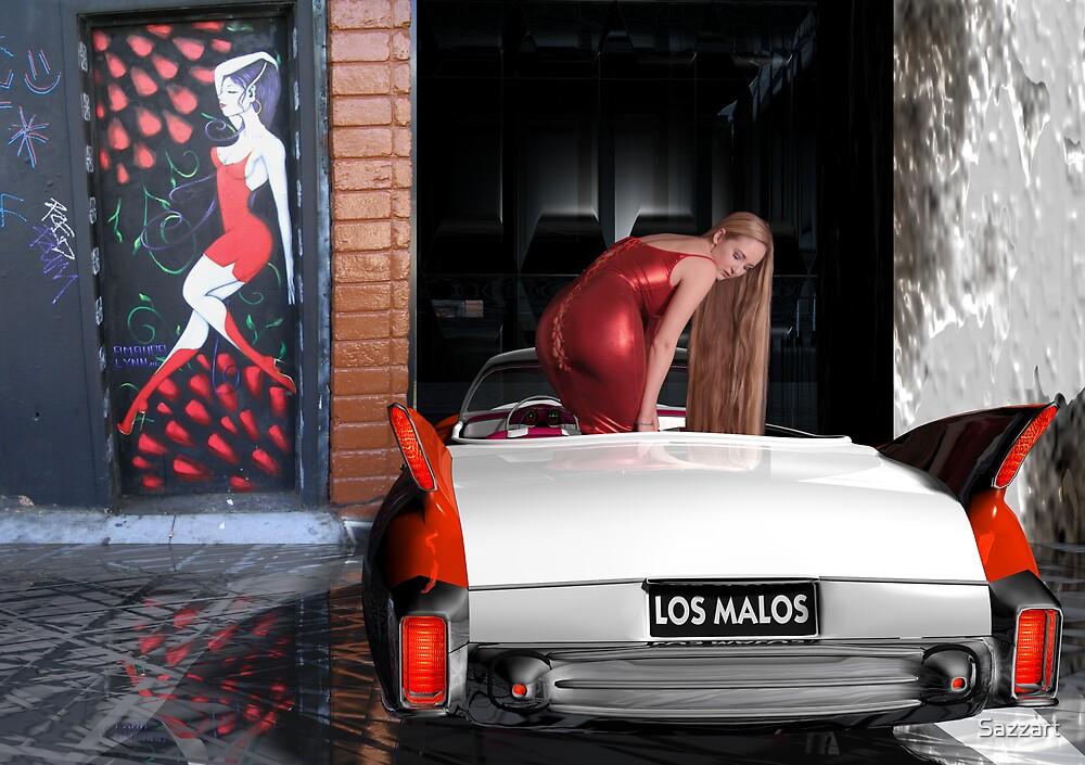 Los Malos  (The Bad) by Sazzart