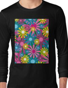 Funky Flowers Long Sleeve T-Shirt
