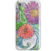 Floral Wave iPhone Case/Skin