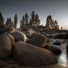 Sand Beach Harbor, Lake Tahoe Nevada by Blake Rudis