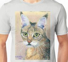 A Pensive Feline Unisex T-Shirt