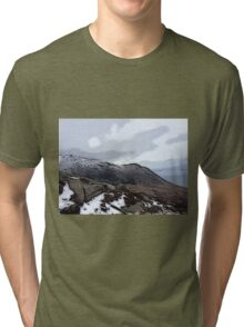 View from Goat Fell Tri-blend T-Shirt