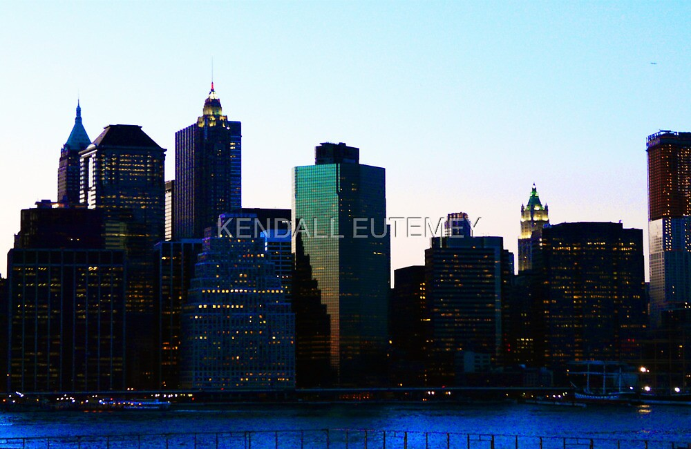 CITY OF DREAMS by KENDALL EUTEMEY